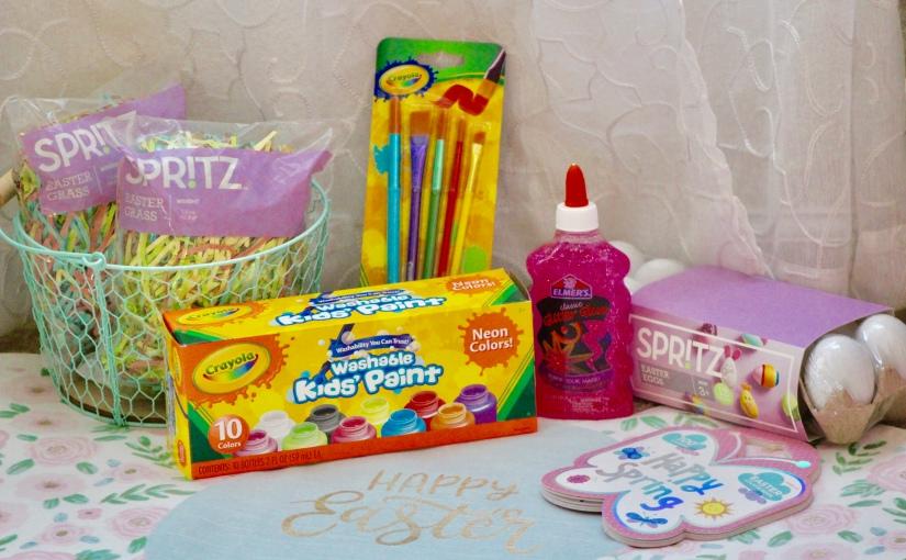 Easter Crafts UNDER $10 (read more for a surprise DIY Eastercenterpiece!)