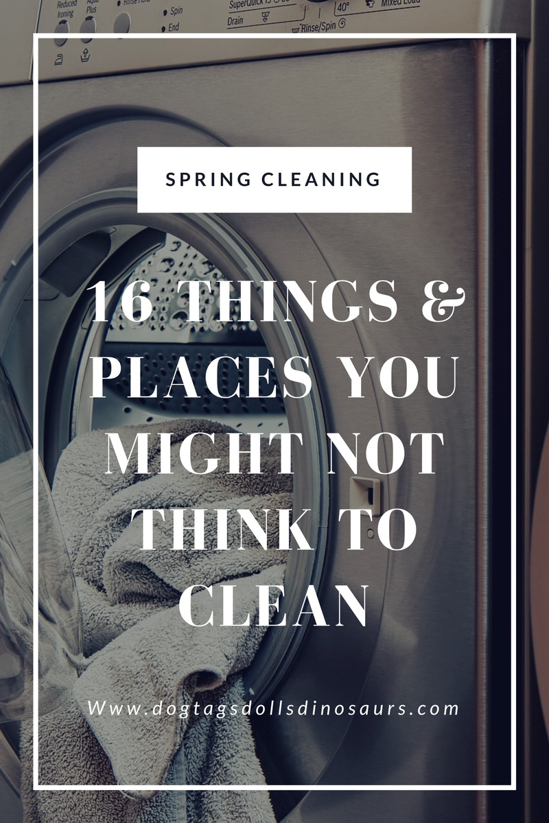 Spring Cleaning: 16 Things & Places You Might Not Think to Clean