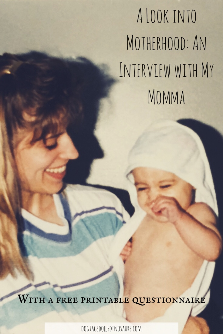 A Look into Motherhood: An Interview with my Momma