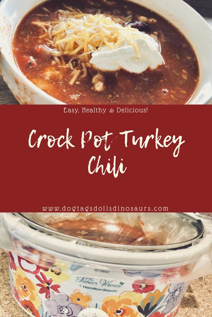 Crock Pot TurkeyChili